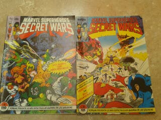 Comics Marvel superhéroes Secret Wars