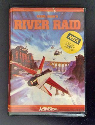 Juego MSX River Raid