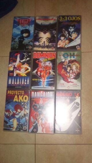 Películas y anime por episodios