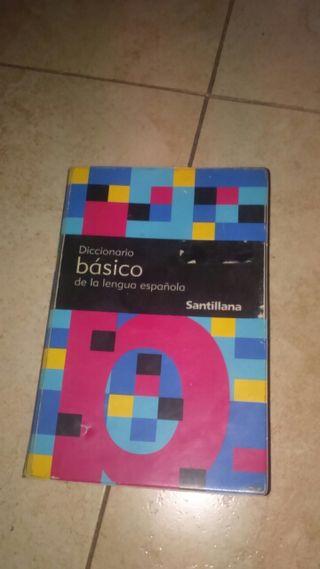 Diccionario básico de castellano