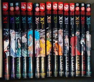 Manga X de Clamp en Japones