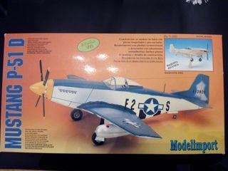 Maqueta Mustang P-51 D - Escala 1:20