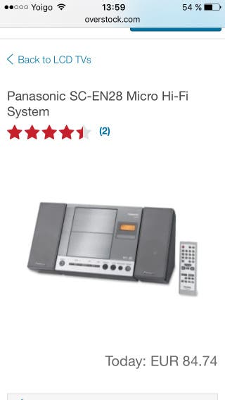 Panasonic SC-EN28