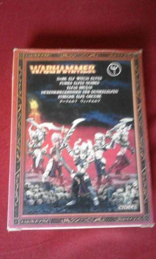 Brujas Elfos Oscuros DESCATALOGADAS Warhammer Fantasy Games Workshop