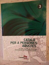 Llibre Català per a persones adultes.