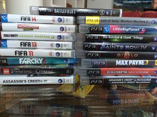 PS3 Videojuegos