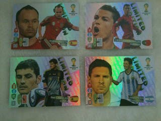 Cromos Adrenalyn Xl Limited edition Brasil 2014 segunda mano  España