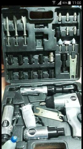 Kit completo de pistola de aire