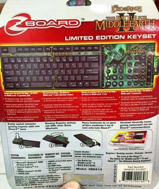 4 Teclados gamer para base Zboard