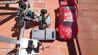 Coche gasolina radio control