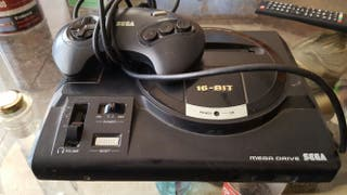 Sega megadrive y mando
