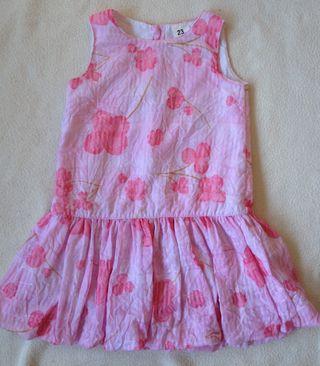 Vestido de niña talla 2 años