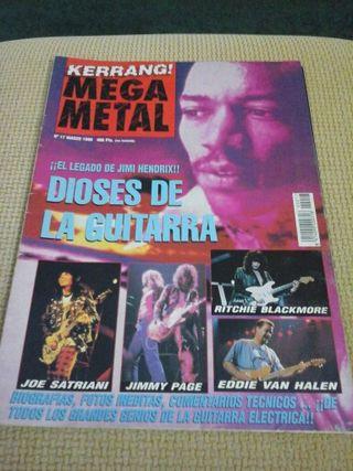 Revista de KERRANG MEGA METAL ( COLECCIONISTAS )