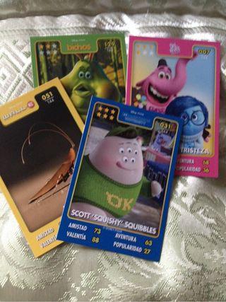 Cartas Hipercor Pixar