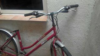 Bicicleta de paseo con marchas
