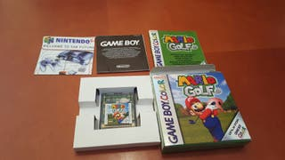 Mario Golf Gameboy Color completo y con caja.