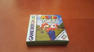 Mario Golf Gameboy Color completo y con caja.