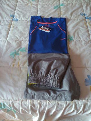 Conjunto camiseta pantalón running