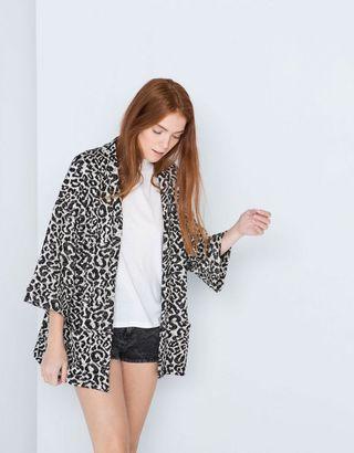 Kimono Leopardo