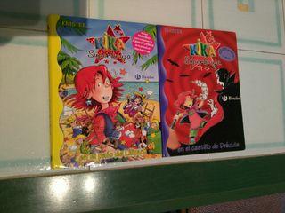 Dos libros Kika Superbruja