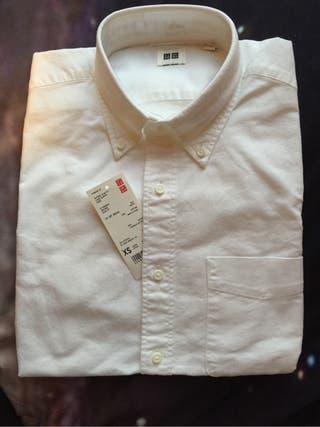 White long sleeve shirt UNIQLO