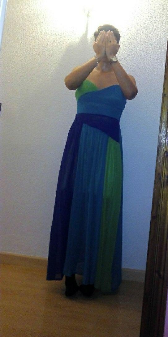Vestido de fiesta o boda largo