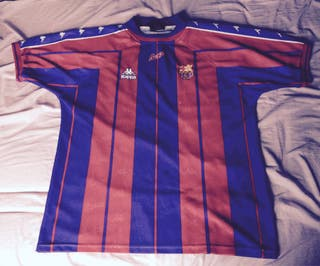 Camiseta F. C. Barcelona 97-98