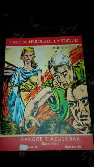 Sangre y Azucenas (Santa Inés) (Colección Héroes de La Virtud)