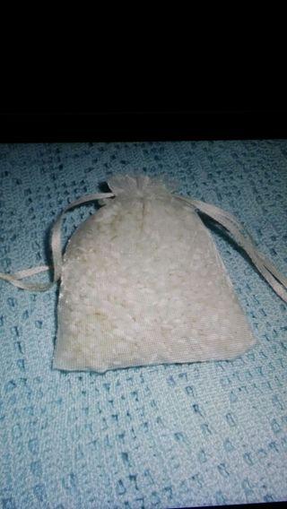 Saquitos arroz