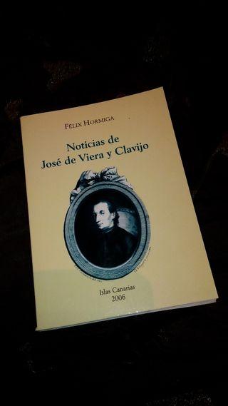 Noticias de José de Viera y Clavijo (Félix Hormiga)