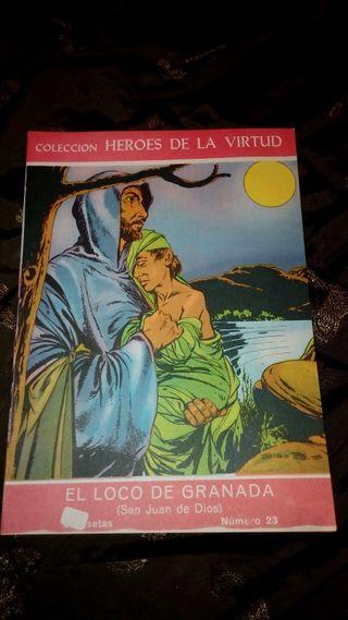 El loco de Granada (Colección Héroes de La Virtud)