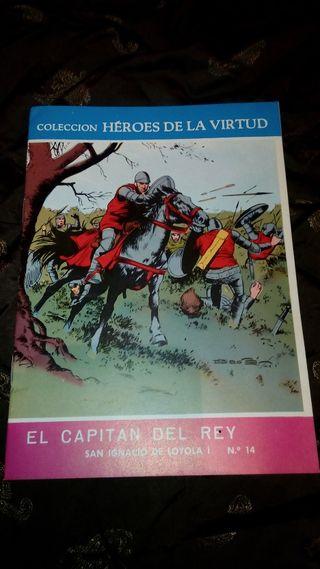El capitán del Rey (Colección Héroes de La Virtud)