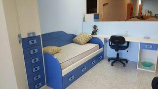 Dormitorio juvenil azul