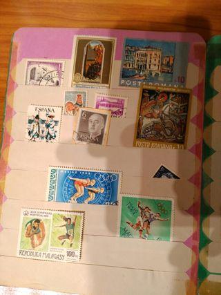 Coleccion de sellos