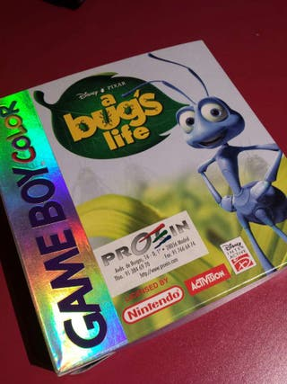 Bugs Life, juego para GAME BOY COLOR