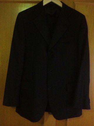 Traje de chaqueta raya diplomatica