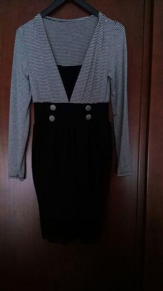 Vestido elegante de rayas .vendo o cambio