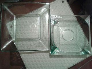 Centros de cristal macizo NUEVOS!