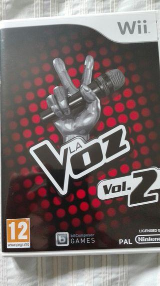 Juego la voz 2