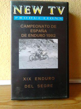 Vídeos VHS, C.E. Enduro 1992