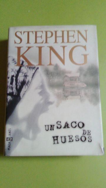 Libro Stephen King Saco de huesos
