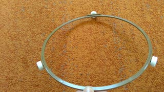Soporte plato giratorio microondas de 22,5 mm de diámetro.