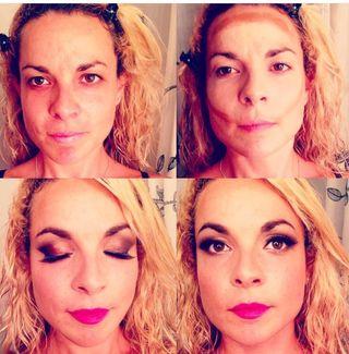 Maquilladora y esteticien profesional