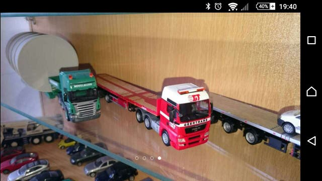 Camión escala 1/87 H0 HO Scania