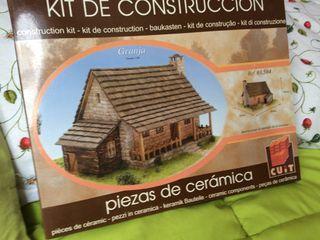 Kit de construcción Granja - cerámica