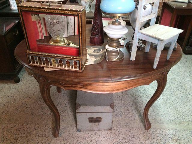 Mesa comedor madera antigua extensible de segunda mano por 220 € en ...