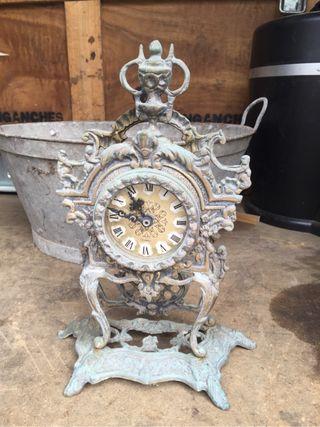 Reloj antiguo latón