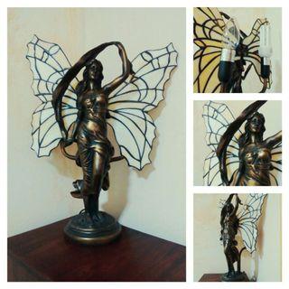 Lámpara bronce-estilo TIFFANY