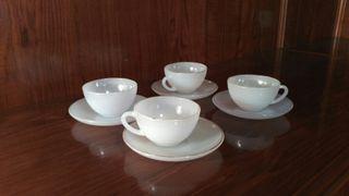 4 Tazas de café vintage