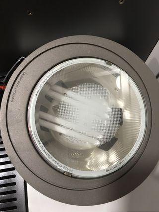 Luz bajo consumo downlight porche